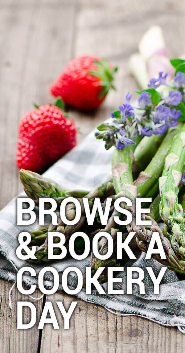 Browse and book a cookery demo